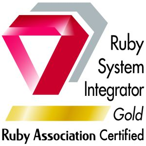 Ruby Association Certified System Integrator Gold に認定されました。